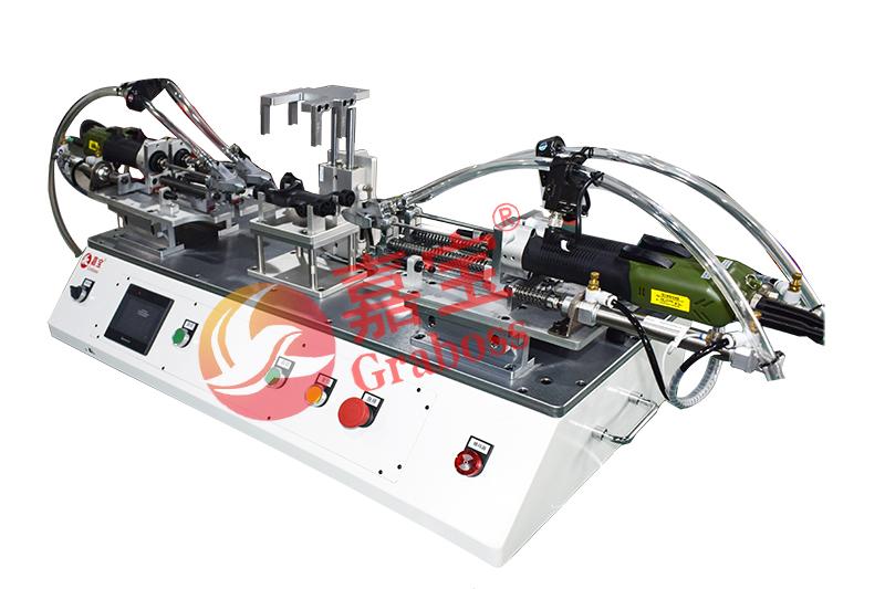 昆山某公司非标定制桌面简易型水平自动锁螺丝机