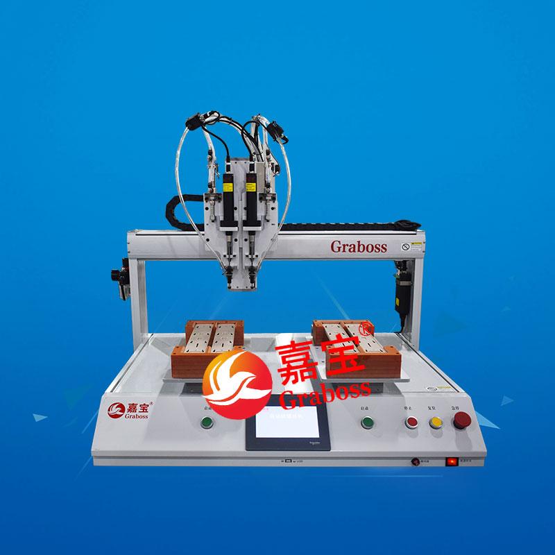 桌面双Y轴锁拖把头全自动螺丝机-缩略图