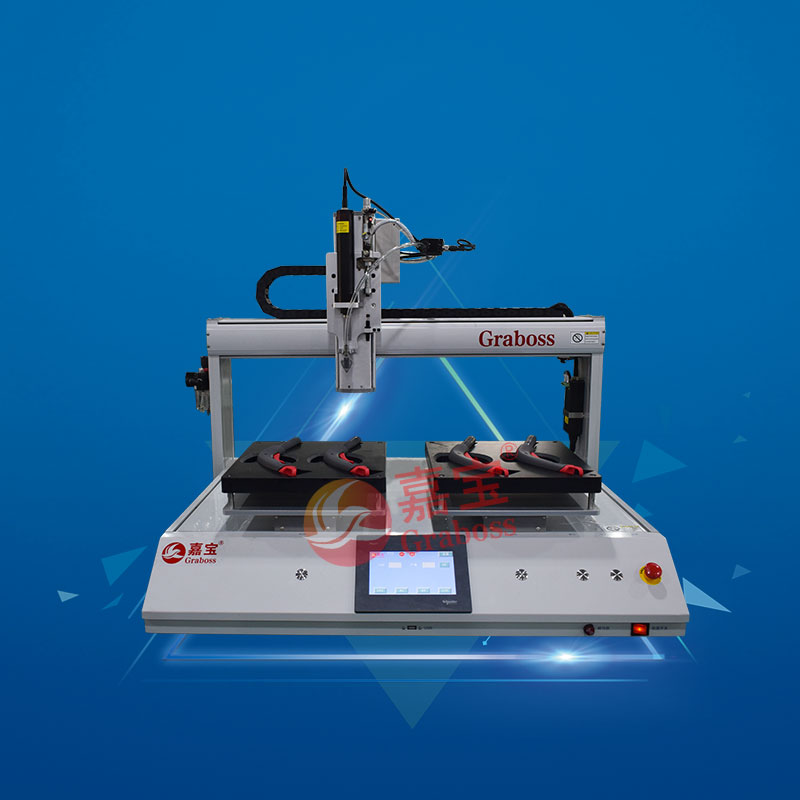 桌面型四轴双Y气自动锁螺丝机锁清洁器把手-缩略图
