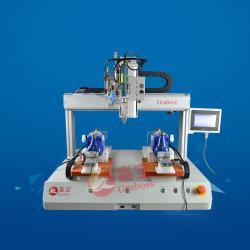 桌面双Y四轴锁水表自动螺丝机