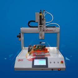 桌面型气吹式三轴锁电池组螺丝机