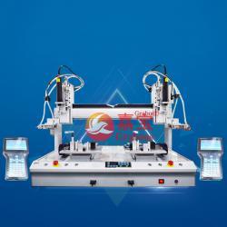 嘉宝磁+吹桌面双三轴锁健身器材全自动螺丝机